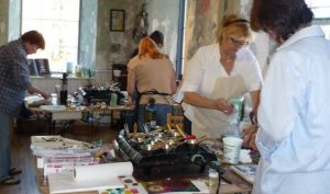 INTRODUCTORY ENCAUSTIC WORKSHOPS / OCT/NOV