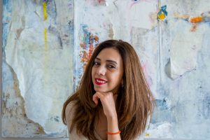 Dania Al-Obaidi: abstract-landscape diptych workshops